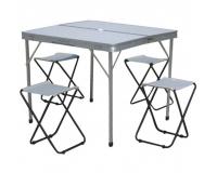 TO-8833-B Стол складной + 4 стула