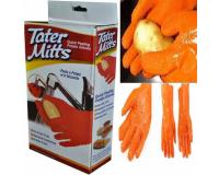 Перчатки для чистки овощей Tater Mitts (Татер Миттс)