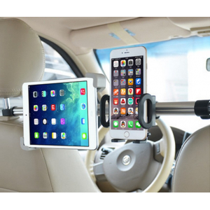 Universal Car Headrest Mount Holder Duo универсальный держатель для смартфона и планшета на задние сиденья.