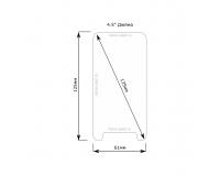 "Universal protective glass Стекло для смартфона с диагональю экрана 4.5"" дюйма"