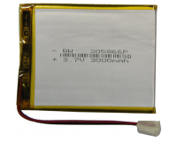 Аккумулятор универсальный 305866P 3000mAh 3.7V, 68х54х3 мм