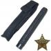 """Телескопическая дубинка """"Police Using"""", длина 50 см, цвет черный для нанесения логотипа"""