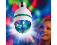Вращающаяся светодиодная диско-лампа Full Color Rotating Lamp