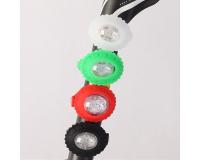 YH-001 Фонарики велосипедные светодиодные 2 LED (2 шт.)