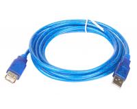 Кабель интерфейсный USB 2.0 удлинитель AM/AF