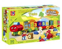 """Конструктор """"Number Train 50"""" (188-22)"""