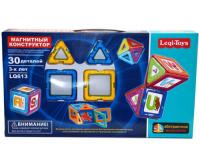 Магнитный конструктор Leqi-Toys LQ613, 30 деталей