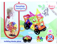Конструктор Develop Intelligence, 74 детали
