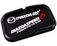Автомобильный антискользящий коврик с бортиками Mazda