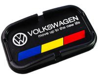 Автомобильный антискользящий коврик с бортиками Volkswagen