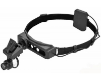 MG9892D Лупа налобная 5x/28x, с подсветкой (1 LED)