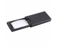 NO 9581 Лупа ювелирная 2.5х/45x, с подсветкой + ультрафиолет (3 LED)