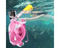 Полнолицевая маска для подводного плавания (снорклинга) с берушами
