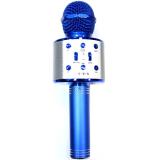 C-335 Беспроводной караоке микрофон, синий