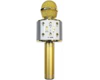 C-335 Беспроводной караоке микрофон, золотой