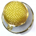 C-335 Беспроводной Bluetooth караоке микрофон HIFI, золотой