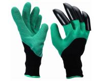 Садовые перчатки с когтями Genie Gloves