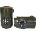 Многофункциональный свисток 7 в 1 с компасом, фонариком, термометром, лупой, зеркалом и шнурком