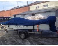 Тент для лодок и катеров 5.0-5.5 м (Размер XXL)