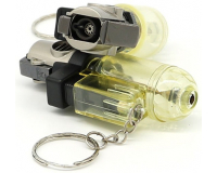 Зажигалка газовая с кольцом для ключей Biwei