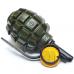 Зажигалка газовая с пепельницей в форме гранаты Ф-1