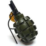 Зажигалка с пепельницей в форме гранаты Ф-1