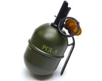 Зажигалка с пепельницей в форме гранаты РГД-5