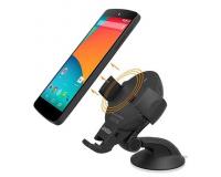 Onetto Charging Car&Desk Mount Easy Flex Wireless держатель для телефона в машину с зарядным устройством