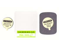 Onetto Metal Plate Набор стальных пластин для любых магнитных держателей