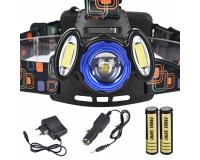 HL-150 Фонарь налобный светодиодный, 3 диода