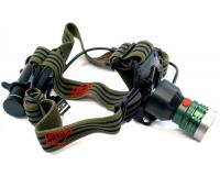 Police BL-K20 Фонарь налобный светодиодный (сменная головка USB)