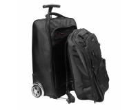 """Promate VoyageDuo сумка-тележка с пристежным рюкзаком, отсек 15.6"""""""