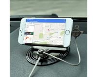Remax Letto Car Holder - Держатель + Кабель для зарядки