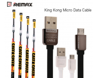 Кабель USB Remax Fast Charging KingKong microUSB 1000 mm для Android устройств