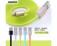 Кабель USB Remax Quick Charge and Data microUSB 1m для Android устройств