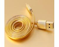 Remax Safe Speed Gold microUsb 1000 mm - Кабель USB Remax microUsb 1m для Samsung Galaxy, Android