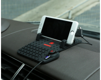 Remax Car Holder Super Flexible гибкий коврик - подставка на торпеду + кабель для подзарядки