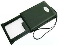 Лупа ручная выдвижная с LED подсветкой MG21015