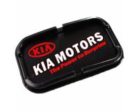 Автомобильный антискользящий коврик с бортиками Kia