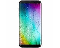 Защитное стекло с рамкой для Samsung Galaxy S8, черный