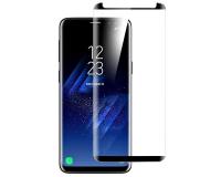 Защитное стекло 3D с рамкой на Samsung Galaxy S9 Edge