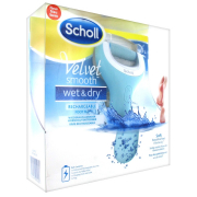 Scholl Velvet Smooth Wet & Dry роликовая пилка с аккумулятором