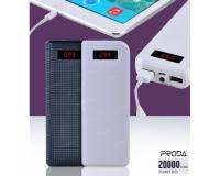 Внешний аккумулятор Remax Proda Power Box 20000mAh 2 USB для планшетов