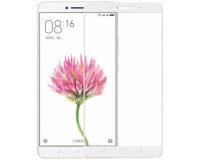 """Защитное стекло с рамкой для Xiaomi Mi Max 2 6.44"""" дюйма цвет: Белый"""