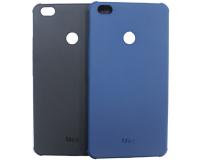 """Резиновый чехол для Xiaomi Mi Max 6.44"""" дюймов, черный/синий"""