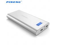 Внешний аккумулятор Pineng Universal Backup Power 30000mAh (Серебро)