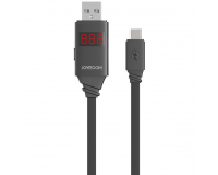 Joyroom JR-ZS200 Дата-кабель USB-microUSB, Led дисплей