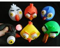 Angry Birds птичка резиновая пучеглазая, 10-12 см