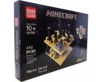 Конструктор Minecraft 121107 Микромир: Конец, 440 деталей