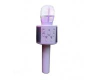 Handheld KTV Q858 Беспроводной караоке микрофон, белый